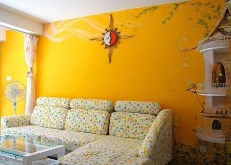 客厅油漆家装工艺